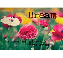 A little Dream Photographic Print