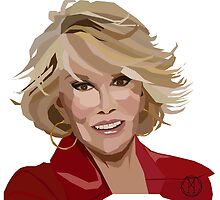 Joan Rivers by Melissa Williams