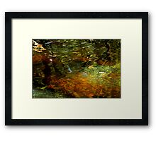 Abstract of the St Croix River 04 Framed Print