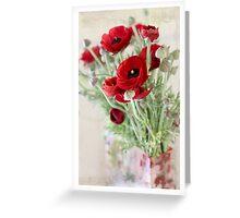 Something Red Greeting Card