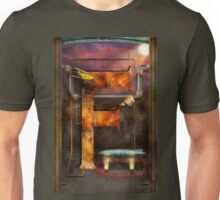 Steampunk - Alphabet - F is for Flying Machine Unisex T-Shirt