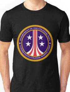 Colonial Marines emblem (full size) Unisex T-Shirt
