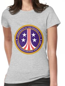 Colonial Marines emblem (full size) Womens Fitted T-Shirt