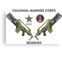 Colonial Marines Corps Reserves Canvas Print