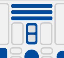 R2D2 Sticker Sticker