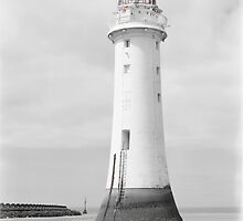 Perch Rock Isolation 2 by DavidWHughes