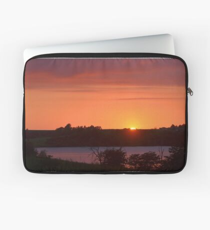 The Final Ember of Day Laptop Sleeve