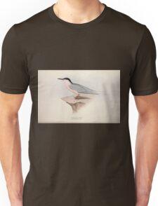 John Gould The Birds of Europe 1837 V1 V5 418 Roseate Tern Unisex T-Shirt