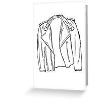 Jacket Greeting Card
