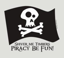 Piracy Be Fun by barrileart