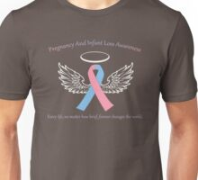 Pregnancy And Infant Loss Awareness Unisex T-Shirt