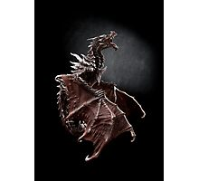 One Alduin dragon from Skyrim game  Photographic Print