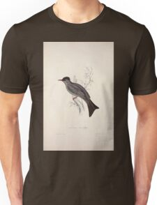 John Gould A Century of Birds from the Himalaya Mountains 1831 010 Hypsipetes Psaroides Unisex T-Shirt