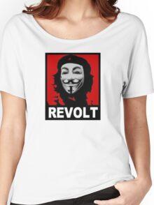ANONYMOUS REVOLT Women's Relaxed Fit T-Shirt