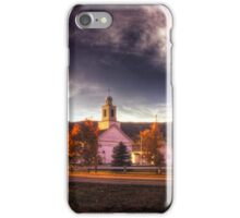 Dusk on the Rumney Town Common iPhone Case/Skin