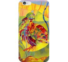 Brillant digital art for everything in yellow and green iPhone Case/Skin