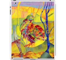 Brillant digital art for everything in yellow and green iPad Case/Skin