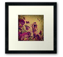 Born of the Butterflies Framed Print