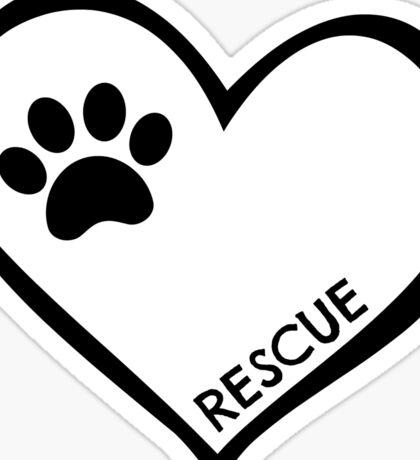Rescue Sticker