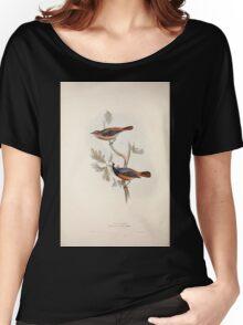 John Gould The Birds of Europe 1837 V1 V5 095 Redstart Women's Relaxed Fit T-Shirt