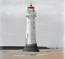 Perch Rock Isolation 4 by DavidWHughes