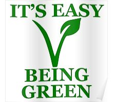Easy Being Green Poster