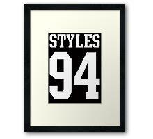 Styles 94 Framed Print