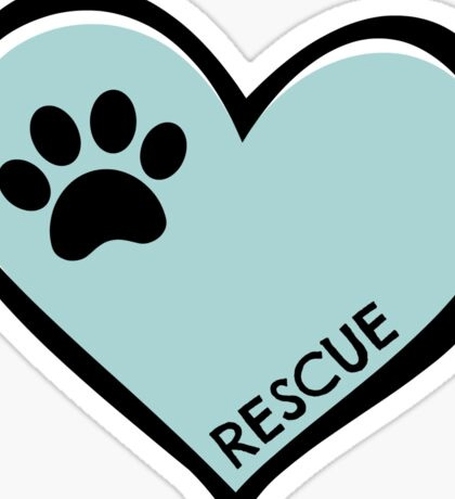 Rescue Sticker