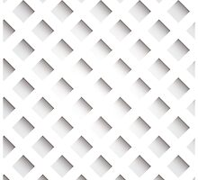 Abstract geometric 3D background, stripes and squares by BlueLela