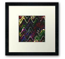 Abstract Waves 30 Version 2 Framed Print