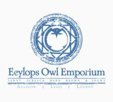 Eeylops Owl Emporium in Blue One Piece - Short Sleeve