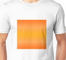 Color Gradient - Bright Orange | Light Orange Unisex T-Shirt