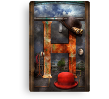 Steampunk - Alphabet - H is for Hats Canvas Print