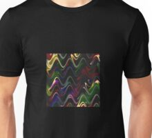 Abstract Waves 30 Version 2 Unisex T-Shirt