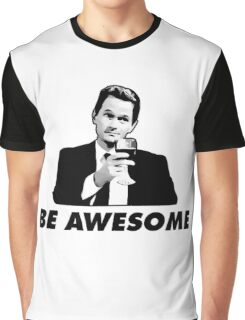 Be Awesome Barney Stinson How I Met your Mother Graphic T-Shirt