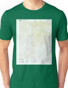 USGS TOPO Map California CA Cahuilla Mountain 20120321 TM geo Unisex T-Shirt