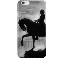 A Step Back in Time (Black & White Version) iPhone Case/Skin