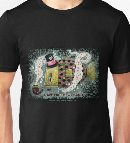 Dave Matthews Band, Tour 2016, Greek Theatre Berkeley CA Unisex T-Shirt