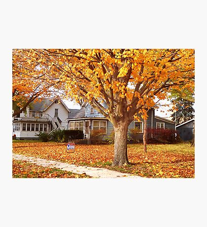Fall Comes to Mid-America Photographic Print