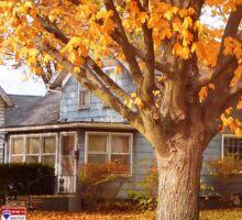 Fall Comes to Mid-America Sticker