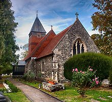 St Mary The Virgin Bulphan by Dave Godden