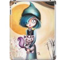 Goth Girl & Creepy Cute Monster Pet iPad Case/Skin
