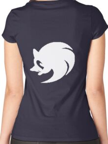 Sonic Cosplay hoodie Women's Fitted Scoop T-Shirt
