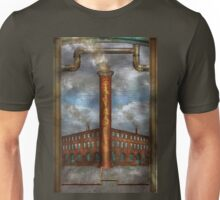 Steampunk - Alphabet - I is for Industry Unisex T-Shirt