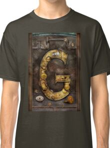 Steampunk - Alphabet - G is for Gears Classic T-Shirt