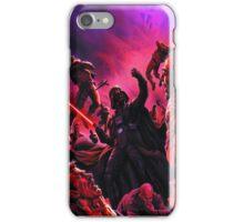 Darth Vader Choking Many Men iPhone Case/Skin