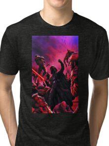 Darth Vader Choking Many Men Tri-blend T-Shirt