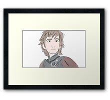 Hiccup Framed Print