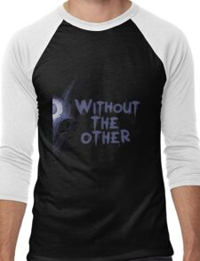 Without the other Wolf Kindred (part) Men's Baseball ¾ T-Shirt