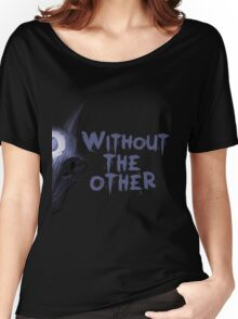 Without the other Wolf Kindred (part) Women's Relaxed Fit T-Shirt